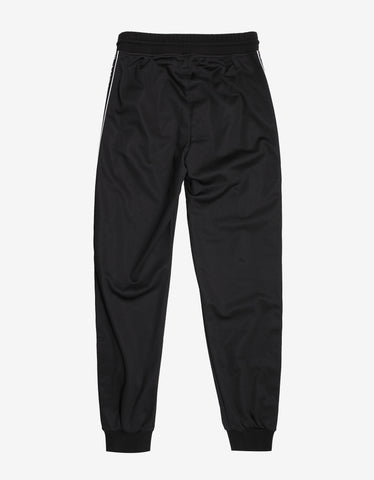 Givenchy Black 4G Logo Band Sweat Pants