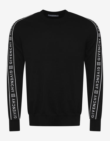 Light Nylon-R Black Sweatshirt