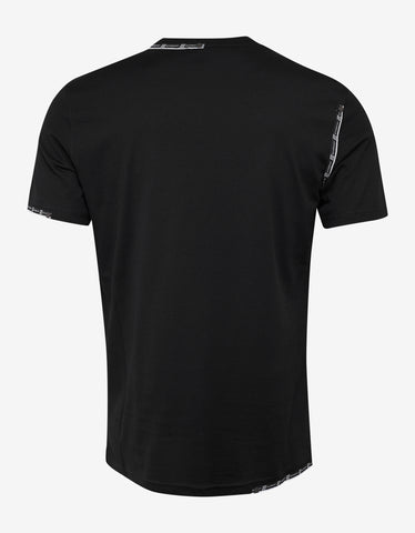 Givenchy Black 4G Logo Trim T-Shirt