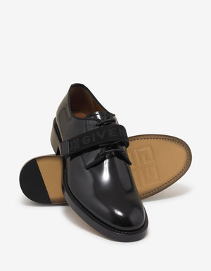 Black 4G Webbing Cruz Derby Shoes