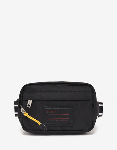 Givenchy Black Logo Badge Waist Bag