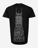 Black Cathedral Print Modern Fit T-Shirt