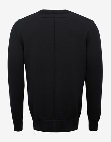 Givenchy Black Cobra Graphic Sweater