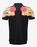 Black Egyptian Wings Cuban Fit Polo T-Shirt
