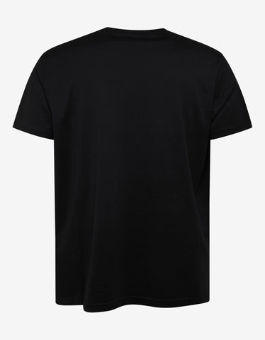 Givenchy Black Freedom Icarus Print T-Shirt