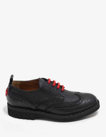 Givenchy Commando Derby II Black Brogues