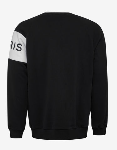 Givenchy Black Logo Panel Sweatshirt