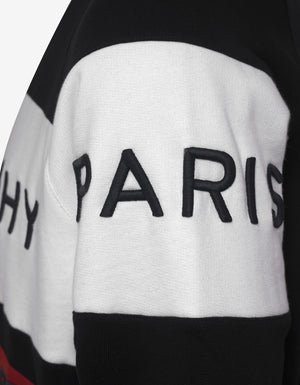 Black Logo Panel Sweatshirt