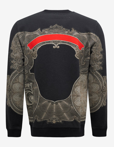 Givenchy Black Money Print Cuban Fit Sweatshirt