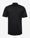 Black Motocross Short Sleeve Shirt