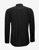 Givenchy Black Shirt with Zip Embellishments