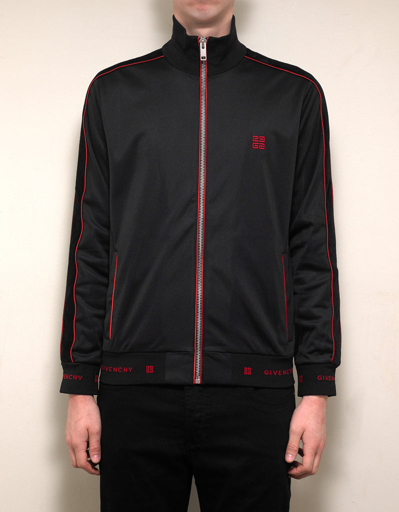 Black Velvet Band Zip Track Jacket