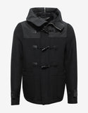 Black Wool Duffel Coat