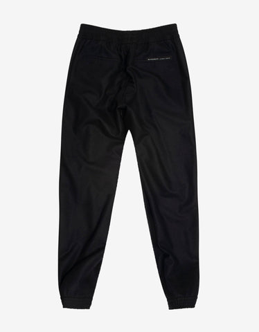 Givenchy Black Wool Jogging Bottoms