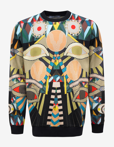 Givenchy Crazy Cleopatra Cuban Fit Sweatshirt