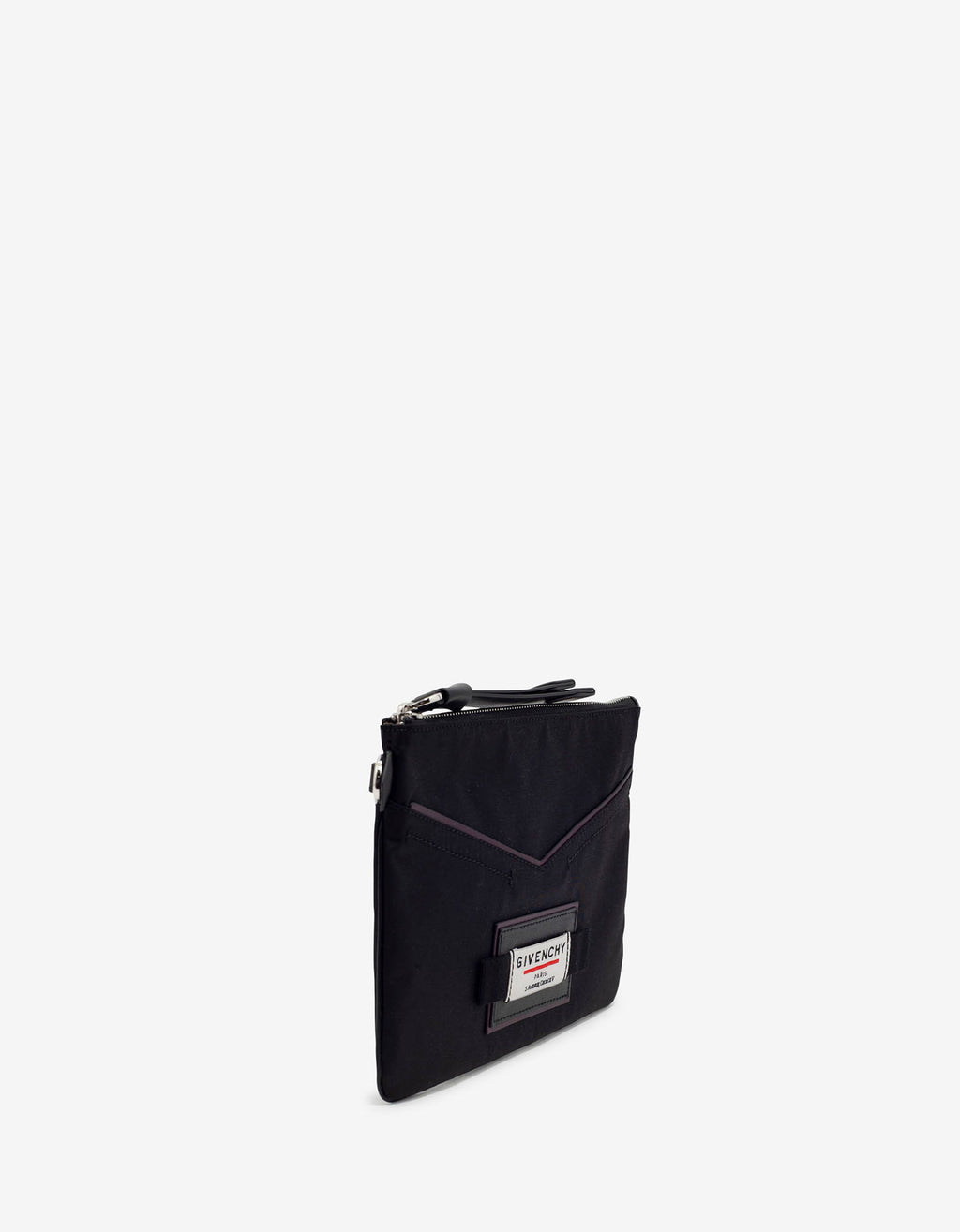 Downtown Black Nylon Pouch