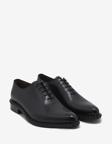 Givenchy Iconic Studs Richelieu Black Shoes