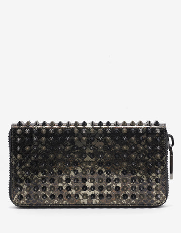 Christian Louboutin Panettone Spec Printed Spikes Wallet