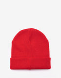 Red Logo Badge Beanie Hat
