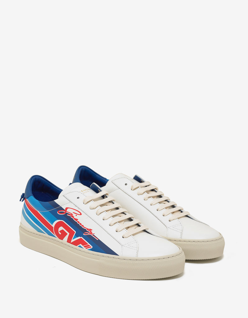 GV Motocross print sneakers - White Givenchy