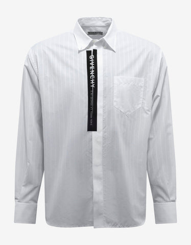 White Slim Fit Shirt -