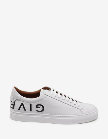 Givenchy White Upside Down Urban Street Trainers