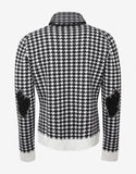 Invidia Dogtooth Check Roll Neck Sweater