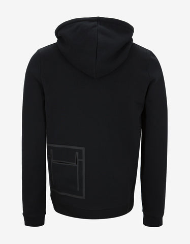 Balenciaga Black Zip-Through Hoodie