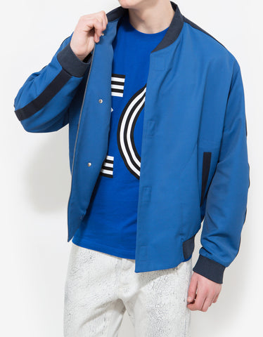 Balenciaga Electric Blue Bomber Jacket