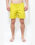 Citrus Yellow Bulldog Swim Shorts