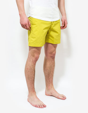 Orlebar Brown Citrus Yellow Bulldog Swim Shorts