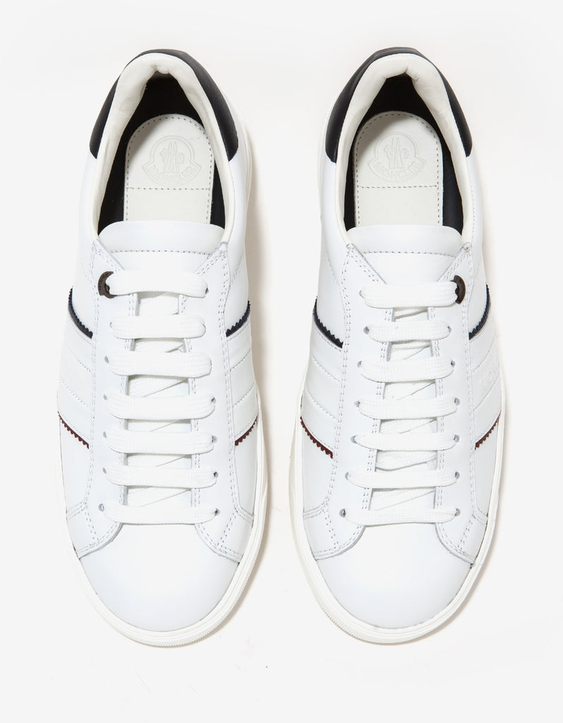 New Gourette White Leather Trainers
