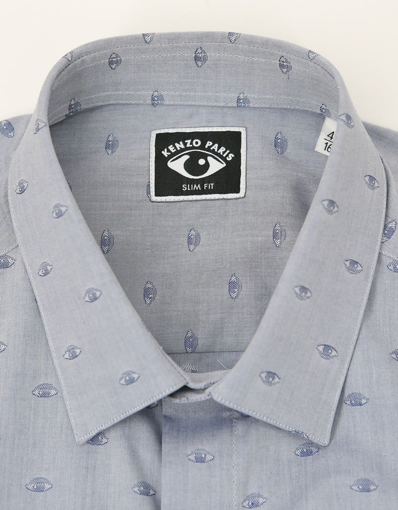 Blue Eye Graphic Slim Fit Shirt