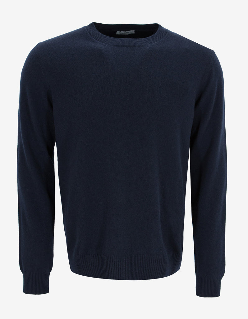 Navy Blue Cashmere Knitwear