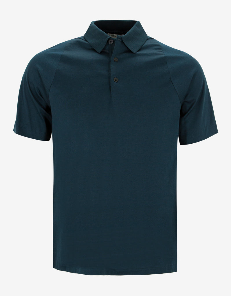 Teal Green Polo T-Shirt
