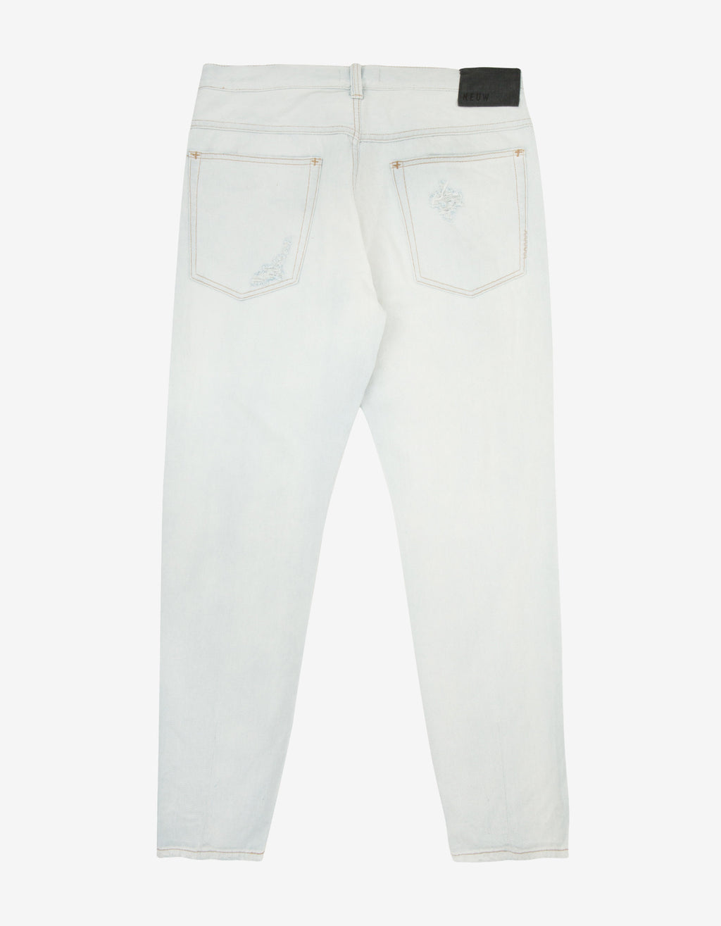 Studio Relaxed 'Hardcore Bleach' Denim Jeans
