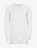 Milk White Long Sleeve Bonded T-Shirt