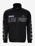 Black Blueprint Zip Sweatshirt