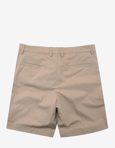 Kenzo Beige Tailored Shorts