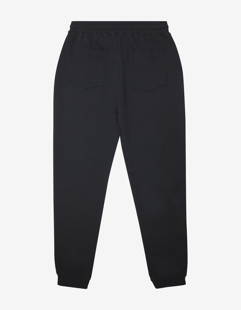 Black Bubble Logo Sweat Pants