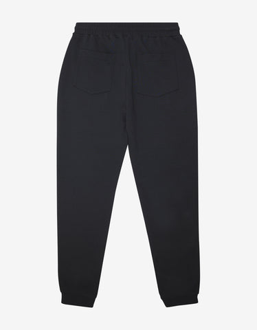 Kenzo Black Bubble Logo Sweat Pants