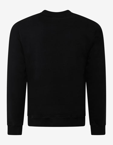Kenzo Black Double Tiger Embroidery Sweatshirt