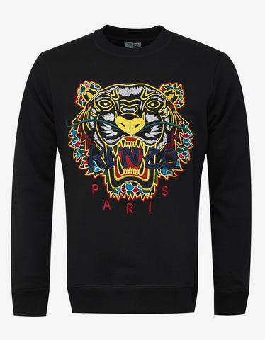 Kenzo Black Japan Tiger Sweatshirt