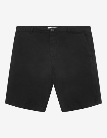 Black & Purple Slim Fit Destroyed Denim Shorts -