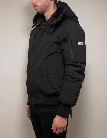 Kenzo Black Short Down Parka Jacket