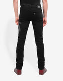 Black Signature Print Slim Jeans