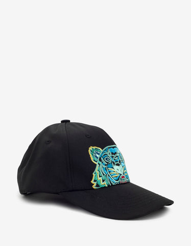 Black Biggie Sunglasses Print Cap