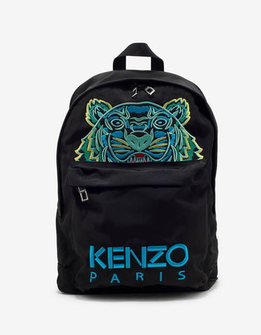 Black Loveblade Print Backpack