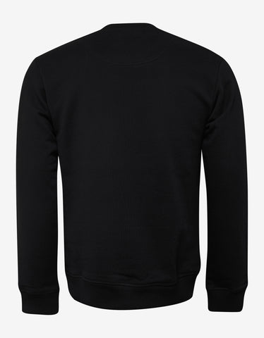 Kenzo Black Tiger Embroidery Sweatshirt