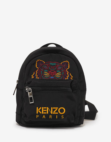 Kenzo Black Tiger Mini Backpack
